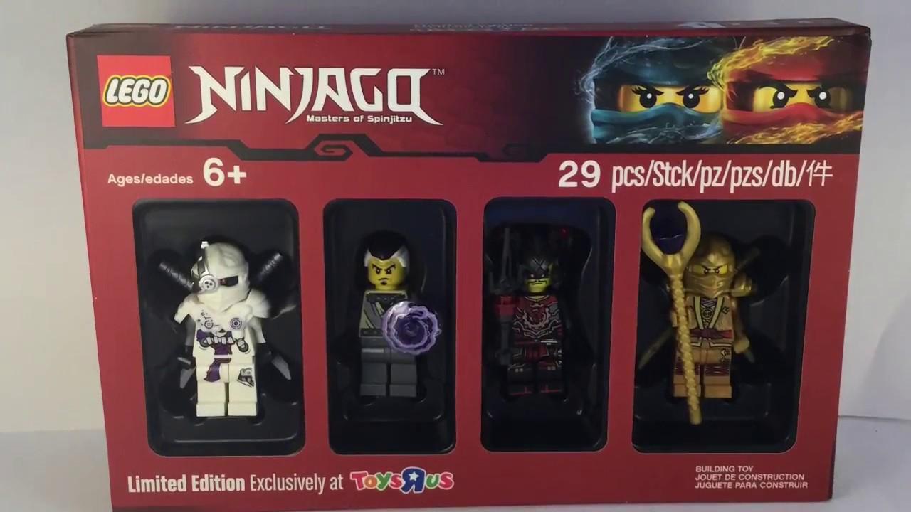 Lego Ninjago Bricktober 2017 Toys R Us Exclusive Review Youtube