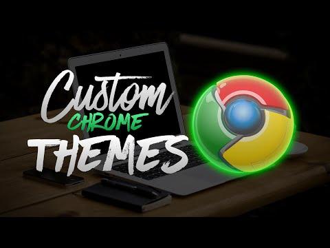 How To Make Your Own Custom Google Chrome Theme! (2017)