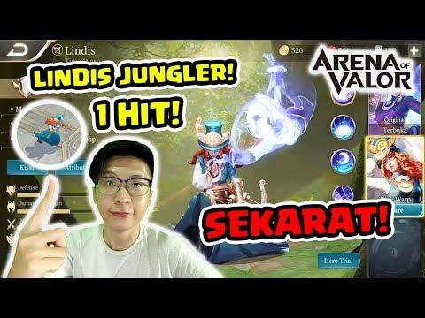 Lindis Jungler Damagenya Tak Manusiawi! - Arena of Valor