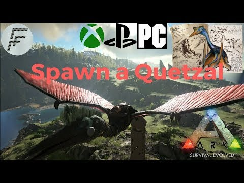 ARK: Survival Evolved How to spawn a Quetzal.