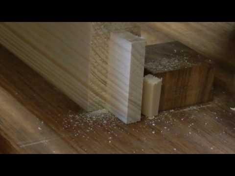 Fabrication d'une table haute et de ses tabourets dernière partie