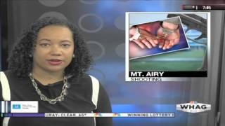 Kirstin Garriss: Fall 2015 Liveshots/Anchoring