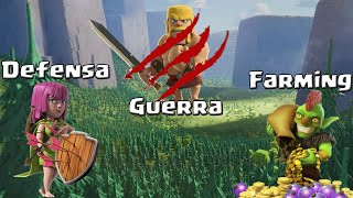 Tips de Farming, defensa y guerra para TH8 | 3 en 1 | Descubriendo clash of clans