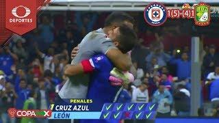 ¡Máquina finalistal! | Cruz Azul 1 (5) - (4) 1 León | Copa Mx - Semifinal | Televisa Deportes