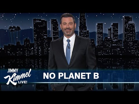 Jimmy Kimmel & Fellow Late Night Shows Team Up for a Climate Change Intervention