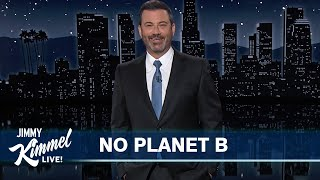 Jimmy Kimmel \u0026 Fellow Late Night Shows Team Up for a Climate Change Intervention