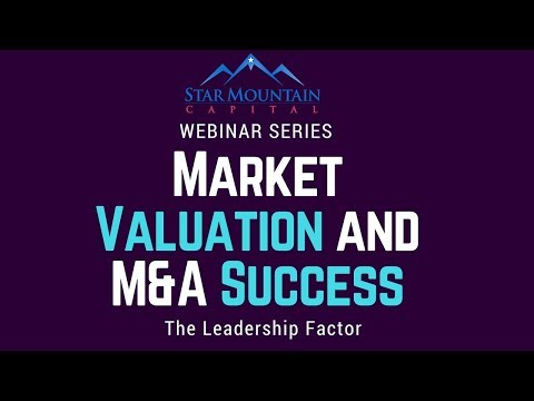 The Leadership Factor in Market Valuation and M&A Success