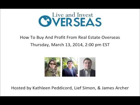 How To Buy And Profit From Real Estate Overseas Webinar