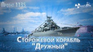 Сторожевой корабль «Дружный». Сталк с МШ.  Guard Ship «Druzhniy»