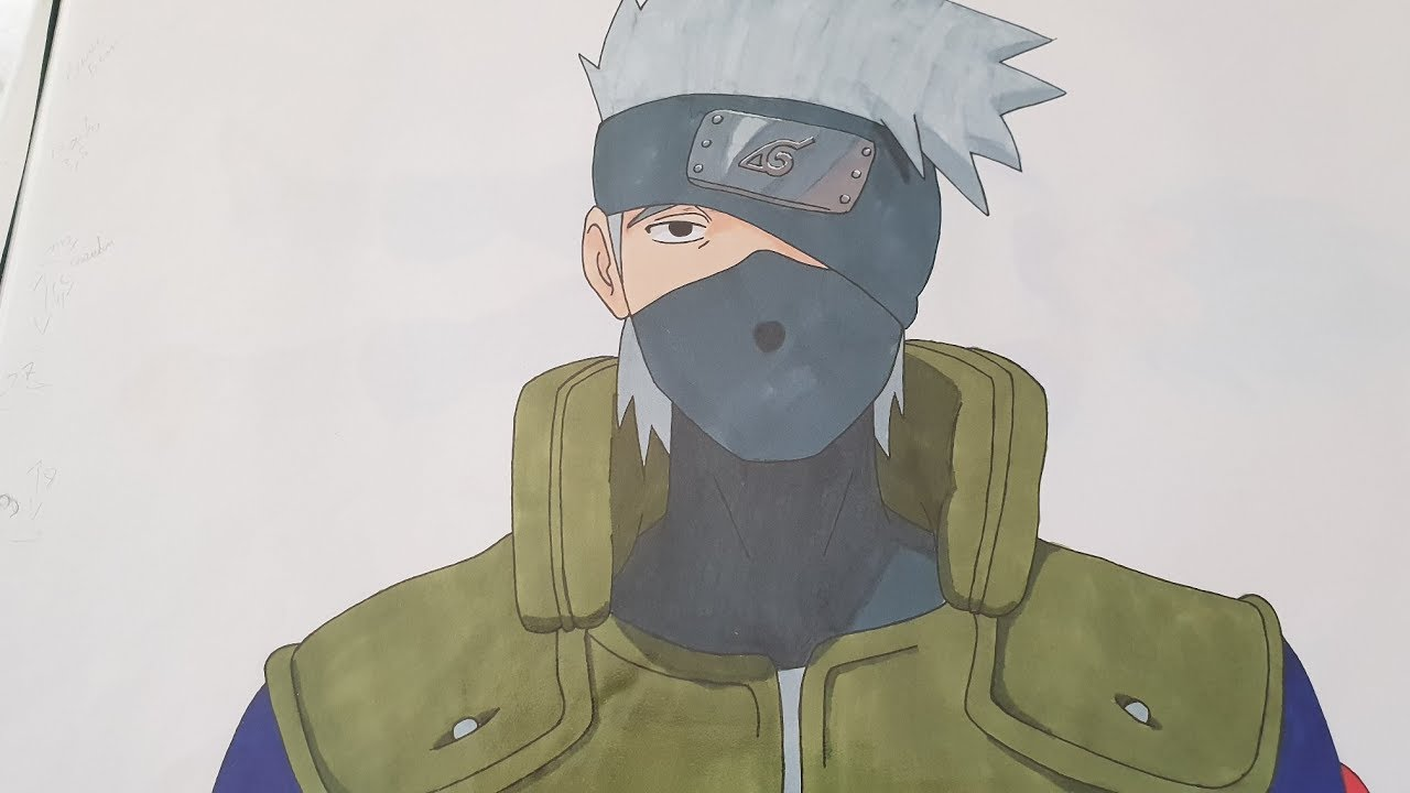 Tuto Facile Comment Dessiner Kakashi Youtube