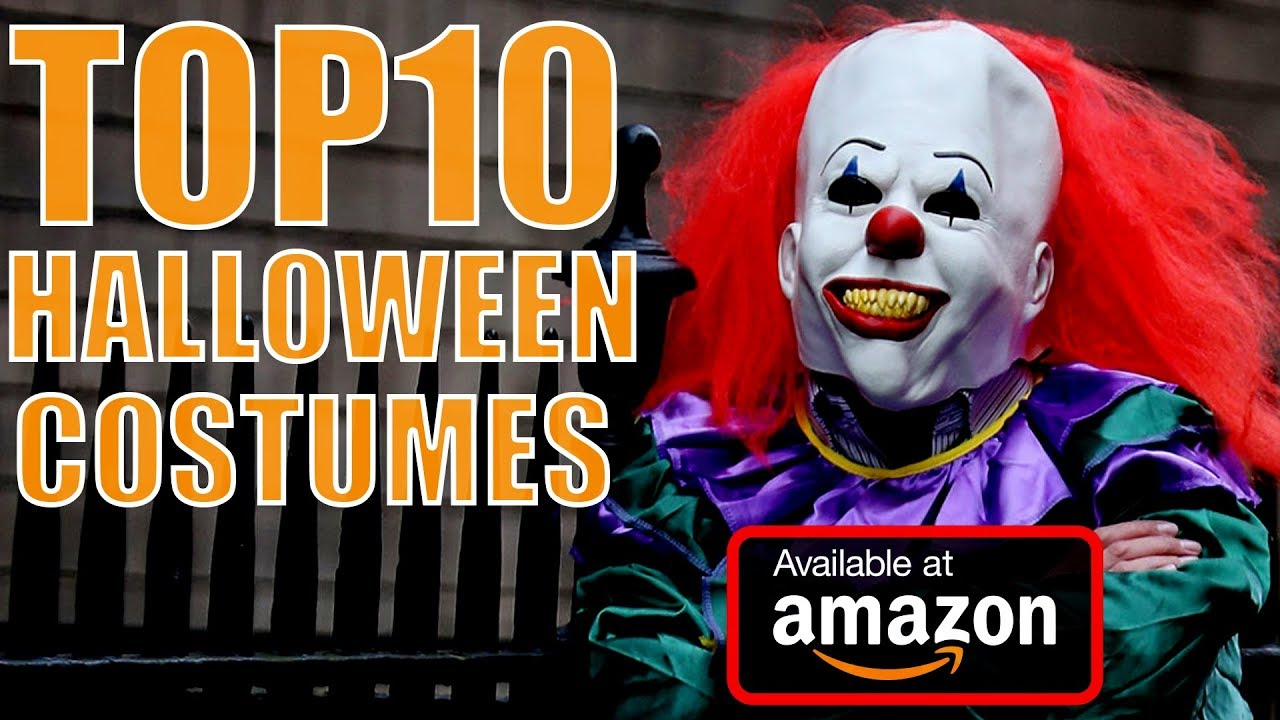 Top 10 Best Costumes For Halloween You Can Buy On Amazon In 2017