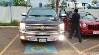 2007-2014 Chevy Silverado Fog Lights Replaced Halogen To LED Light