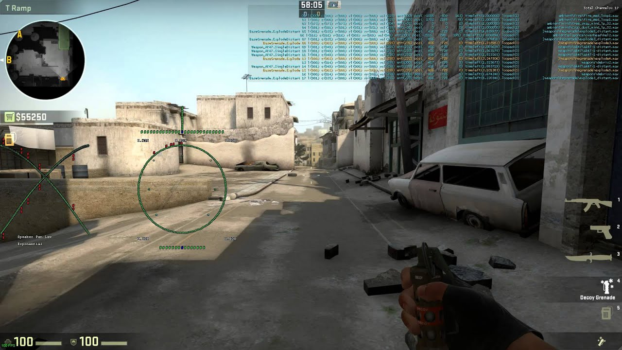 CS:GO Galil AR audio bug - Missing resource reducing audible range