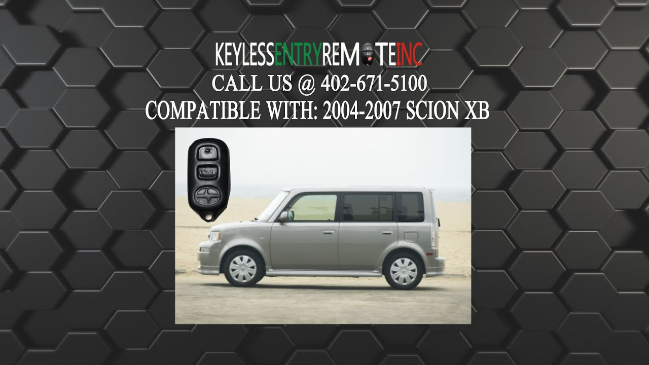 How To Replace A Scion Xb Key Fob Battery 2004 2007