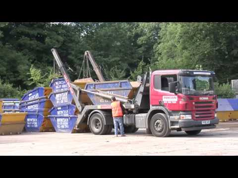 mercian skip hire birmingham youtube. Black Bedroom Furniture Sets. Home Design Ideas