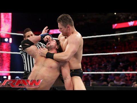 AJ Styles vs. The Miz: Raw, February 15, 2016