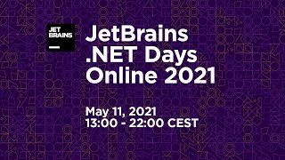 .NET Days Online. Day 1