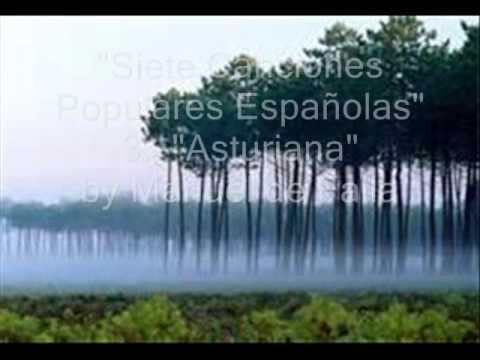 Laurence Albert - Sietes Canciones Populares Españolas by Manuel de Falla  3. Asturiana