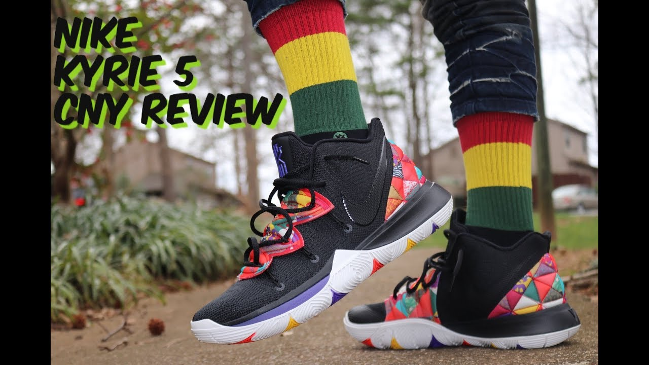 half off 8eb8f 2d1e6 NIKE KYRIE 5 CHINESE NEW YEAR CNY REVIEW & GAS ON FEET!!