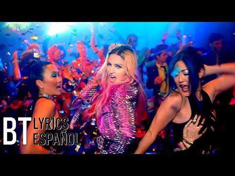 Madonna - Bitch I'm Madonna ft. Nicki Minaj (Lyrics + Español) Video Official