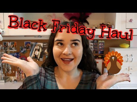 BLACK FRIDAY And CYBER MONDAY HAUL!!! (American Eagle, Anastasia, Tarte, Romwe, And More)