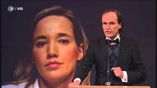 Bye Bye Christina Schröder eine Laudatio von Olaf Schubert ZDF Heute Show 18 10 13 HD