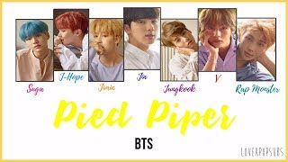 Video BTS - Pied Piper [COLOR CODED LYRICS English subs + Romanization + Hangul] HD download MP3, 3GP, MP4, WEBM, AVI, FLV Mei 2018