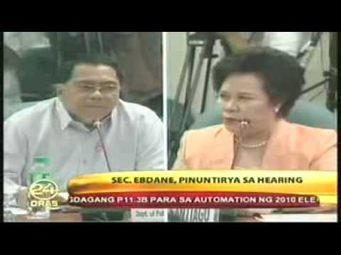 MIRIAM DEFENSOR SANTIAGO Returns