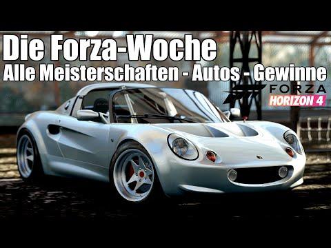 Forza Horizon 4 - Die Forza-Woche - Alle Meisterschaften, Fahrzeuge, Gewinne (S7W) thumbnail
