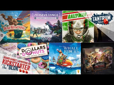 Board Games On Kickstarter July 2020 (1st Half)
