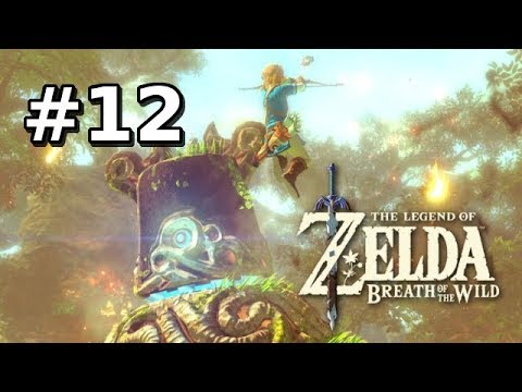 Legend of Zelda Breath of the Wild Walkthrough Part 12 - Human Torch (Let's Play Commentary)