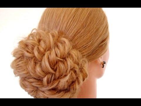 причёска с бантом из волос фото