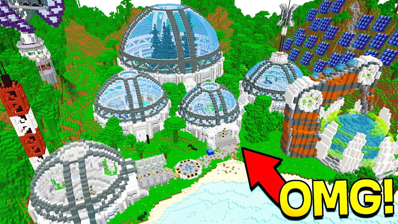 Top Secret Minecraft Redstone Laboratory Youtube
