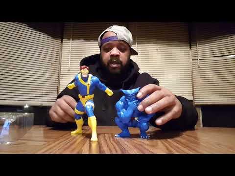 Marvel's X-men 92 Kotobukiya Cylclops and Beast unboxing