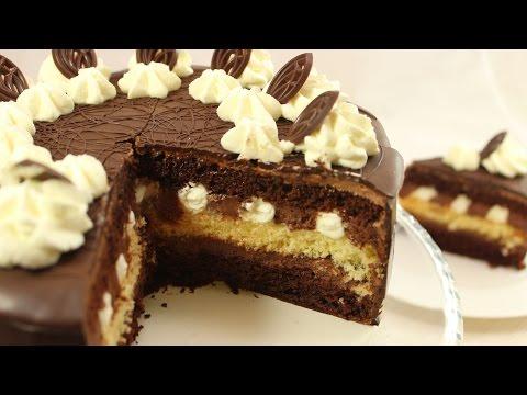 Chocolate Cream Cake I Festliche Schokoladentorte