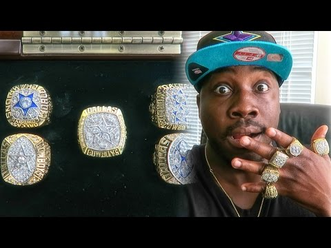 NFL SUPERBOWL CHAMPIONSHIP RINGS UNBOXING! Dallas Cowboys 71' 77' 92' 93' 95'