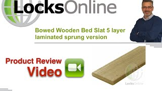 Bowed Wooden Bed Slat 5 Layer Laminated Sprung Version   Locksonline Product Reviews