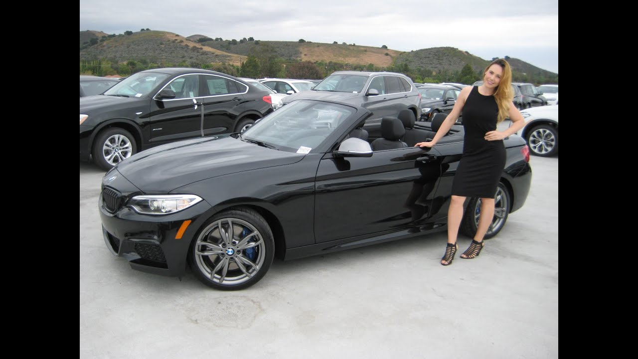 ALL NEW BMW M235i Convertible 18 M Wheels Exhaust