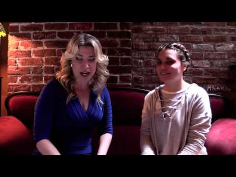 Haunted interview with Stephanie Stricklen at Oldtown Pizza! .