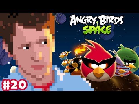 Angry Birds Space - Gameplay Walkthrough - Part 20 - Utopia Boss Battle Finale