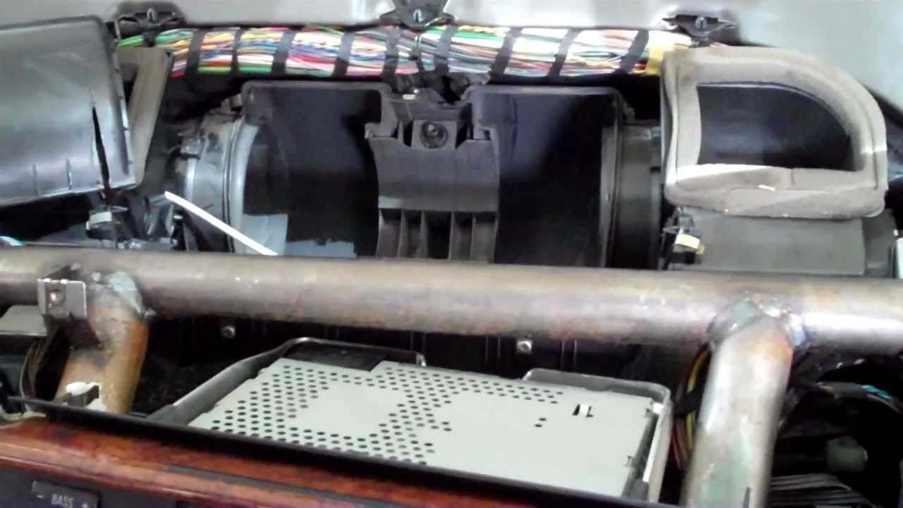 Bmw Blower Motor How To Replace Youtube