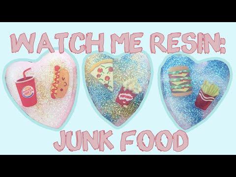 Watch Me Resin: Junk Food // VelvetWay