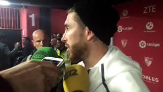 Sergio Ramos, tras eliminar al Sevilla en Copa