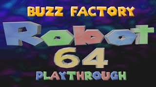Buzz Factory Playthrough | Robot 64 New Level (ROBLOX)