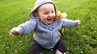 Cute Babies Outdoor Moments 🌼🌼🌼 Funny Baby Videos