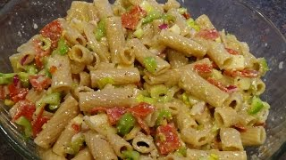 Whole Wheat Cold Pasta Salad