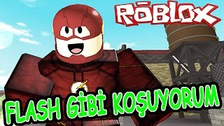 FLASH TO BE A FAST RUNNER / RUNNING SIMULATOR / Roblox Running Simulator
