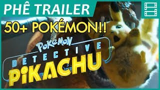 50+ POKÉMON in DETECTIVE PIKACHU trailer