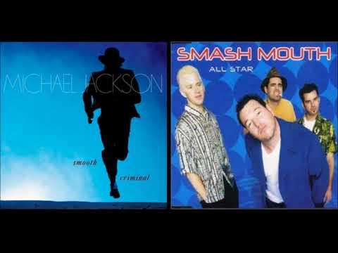 Michael Jackson - Smooth Criminal And Smash Mouth - All Star Mashup