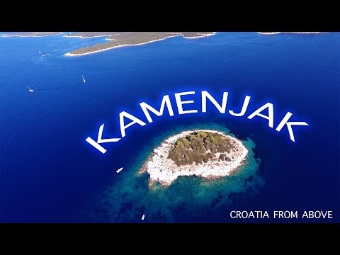 Kamenjak | Vela Luka | Korčula | Hrvatska | Croatia | Aerial video | 4K